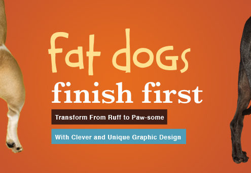 Ruff to Pawsome by Rhonda Negard of Fat Dog Creatives