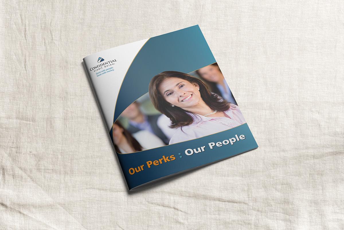 Credit Union employee benefits brochure