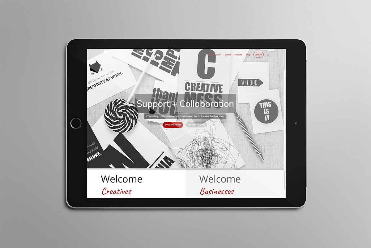 Web Site for Creative Alliance of Tacoma