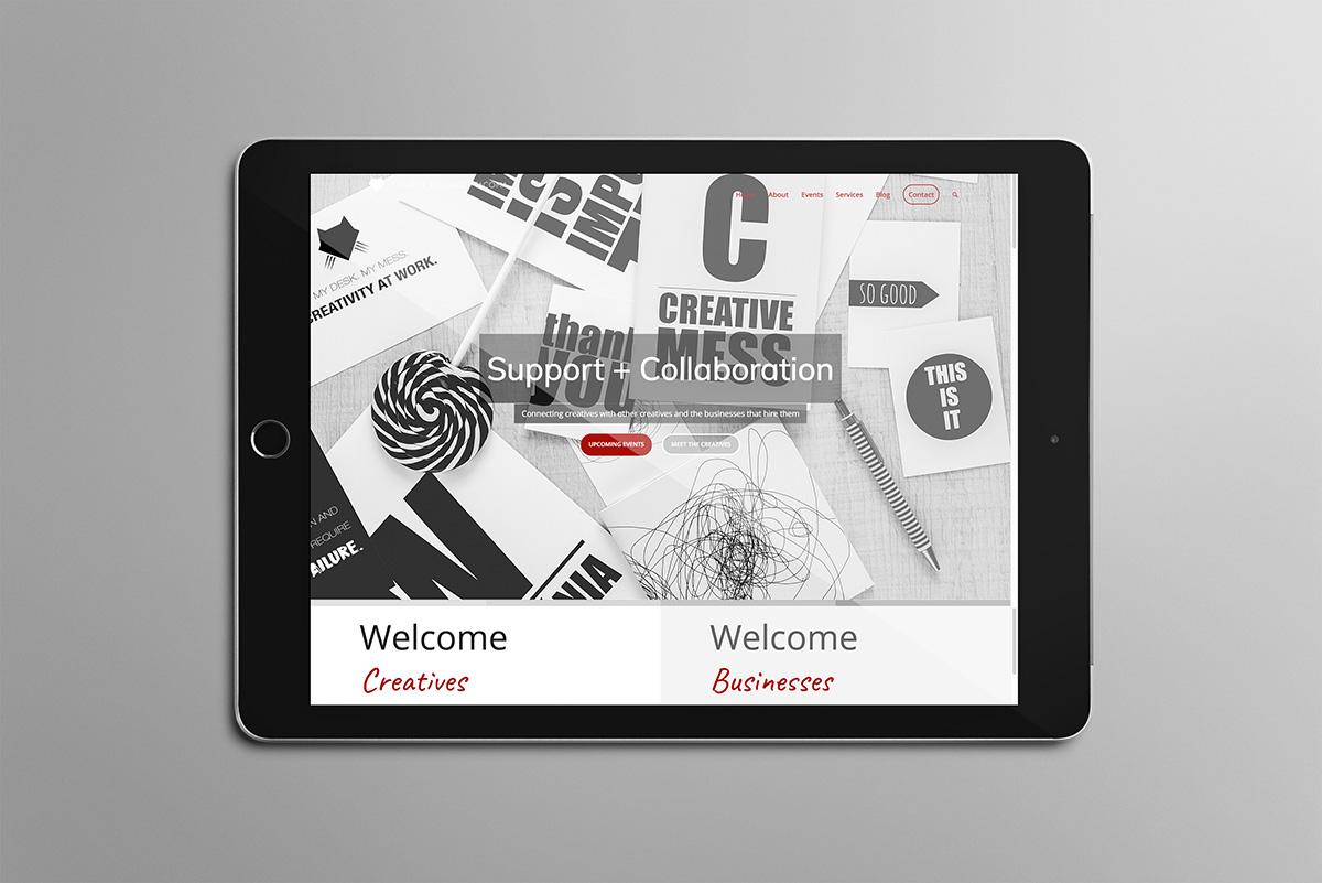 Web Site for Creative Alliance of Tacoma