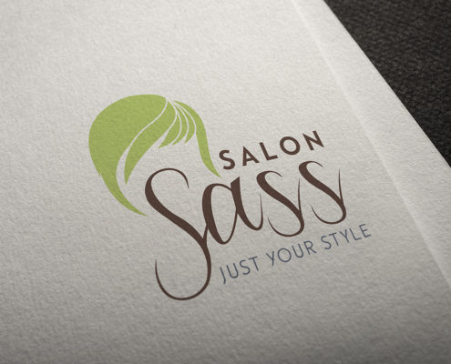 Salon Sass logo, Just Your Style