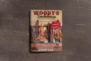 Woody's Smokehouse Ad