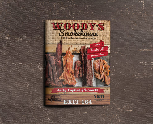Woody's Smokehouse Ad