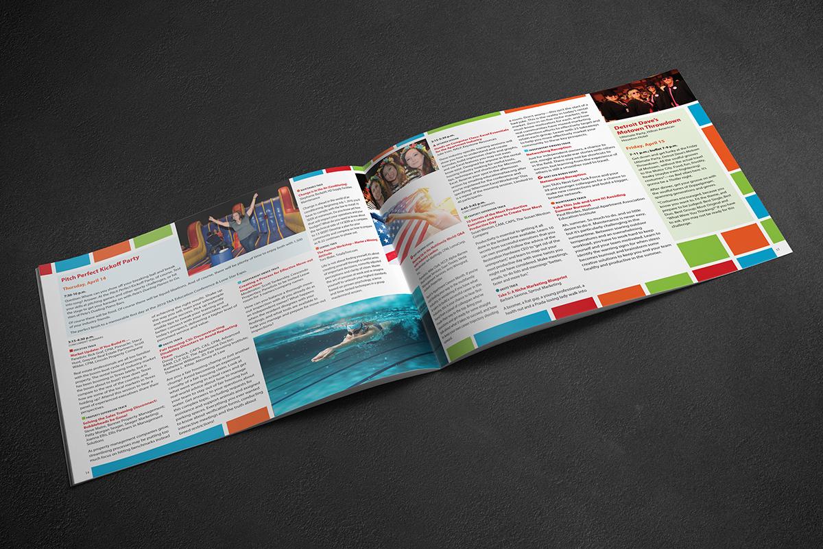 TAA conference program session descriptions spread