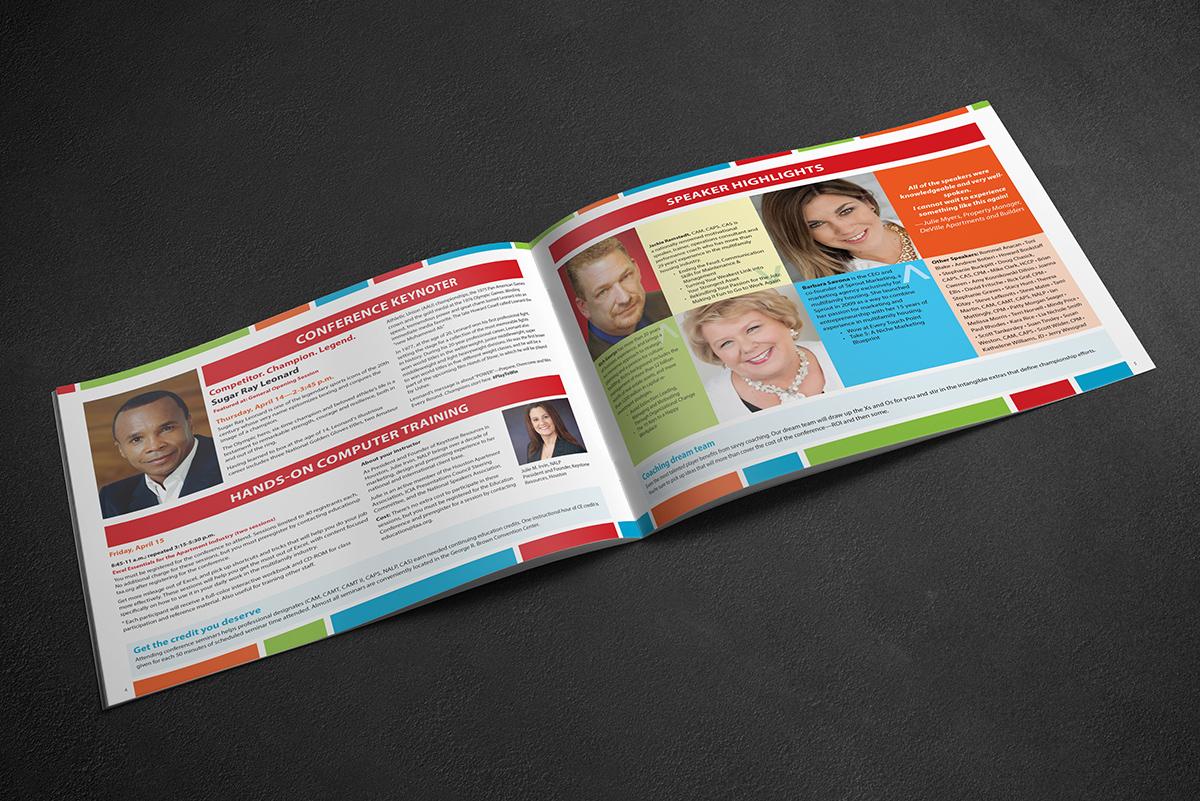 TAA conference program speakers spread