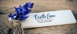 Castle Lane Creations, logo design by Fat Dog Creatives, Rhonda Wood Negard