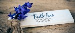 Castle Lane Creations, logo design by Fat Dog Creatives, Rhonda Wood Negard