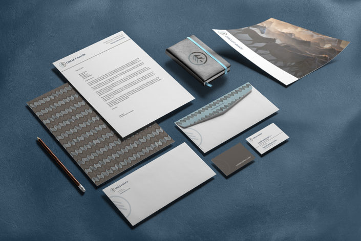Circle E Ranch branded paper system