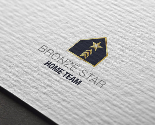 logo for Bronze Star Home Team