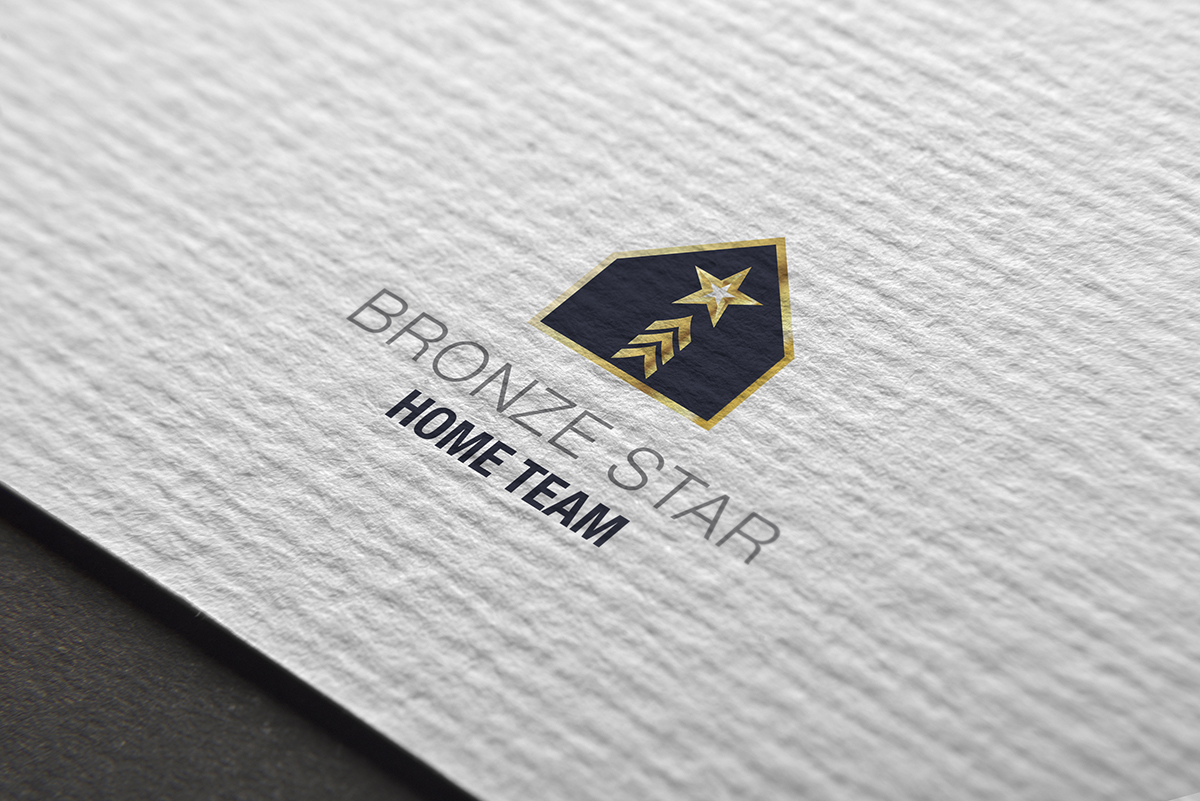 logo for Bronze Star Home Team
