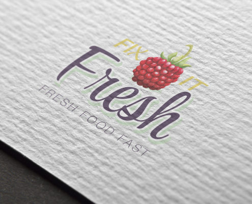 Fix It Fresh, fresh food fast logo