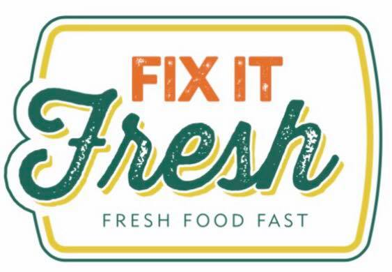 Fix It Fresh logo concept design by Rhonda Negard and Fat Dog Creatives