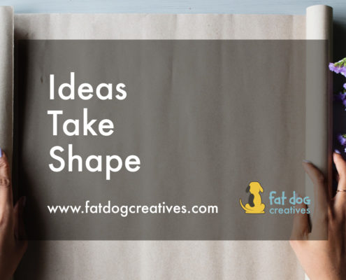 Ideas Take Shape, blog post image