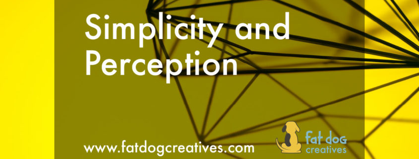 Simplicity and Perception, blog post image