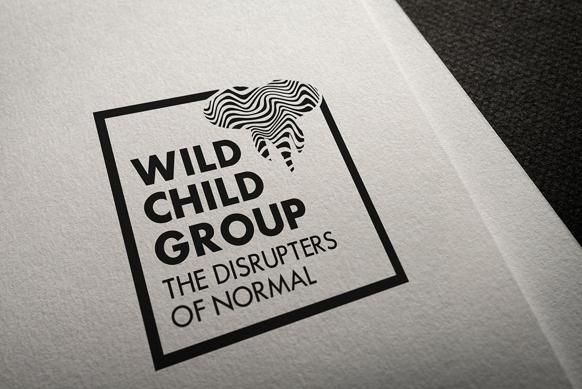 Wild Child Group, Candace Thompson, logo redesign mockup