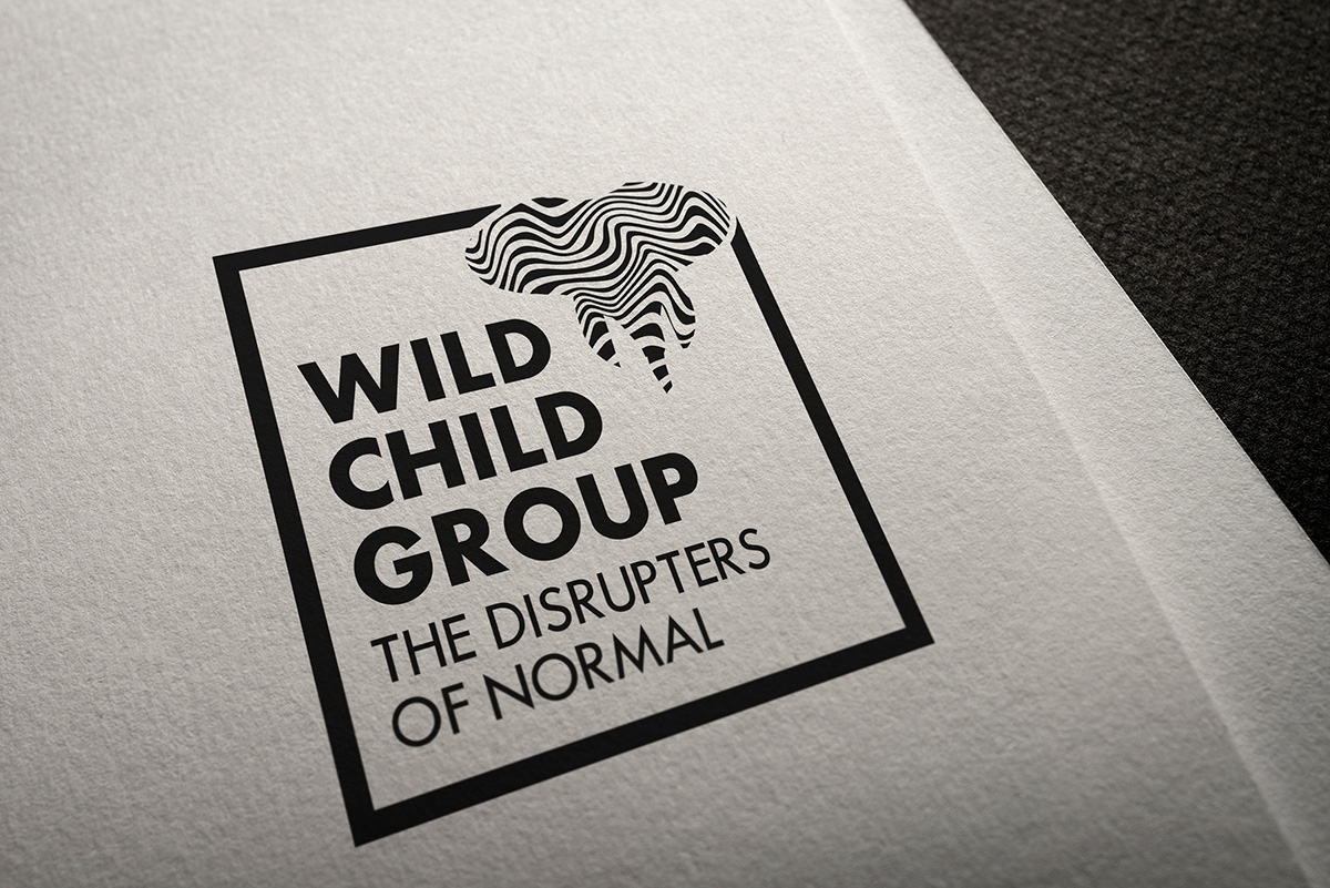 Wild Child Group, Candace Thompson, logo redesign mockup