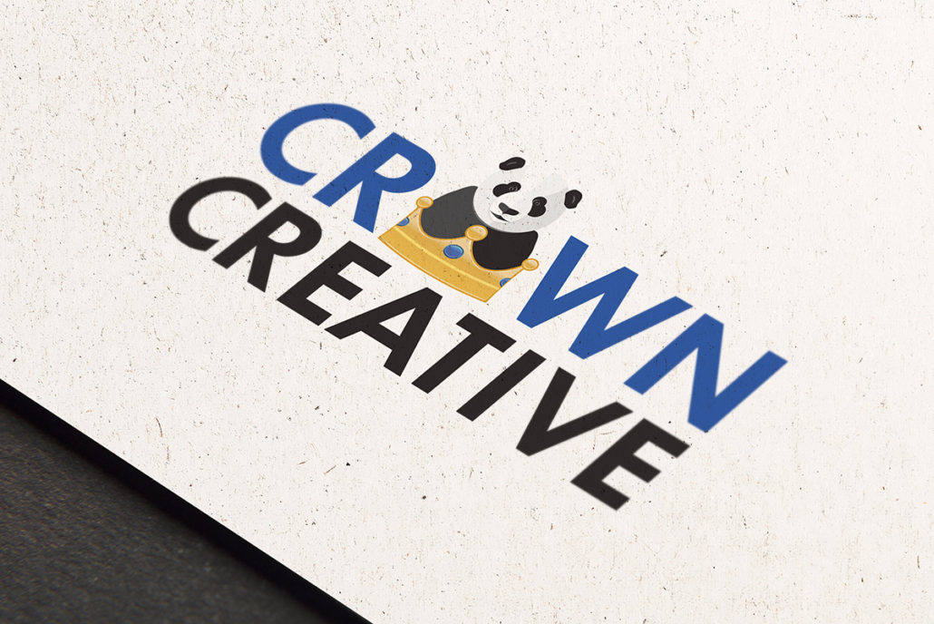 Crown Creative Logo mockup