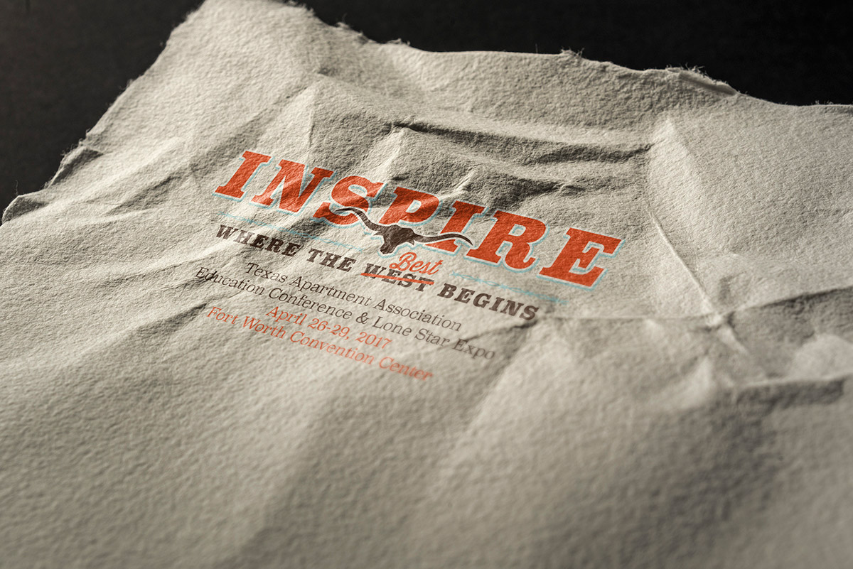 Inspire, where the best begins, TAA 2017 Conference logo
