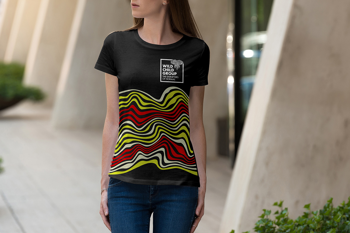 Wild Child Group t-shirt mockup