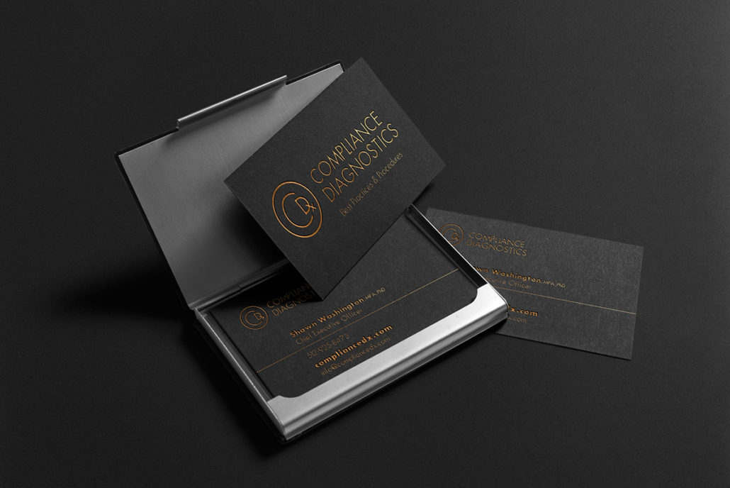 Compliance Diagnostics business cards