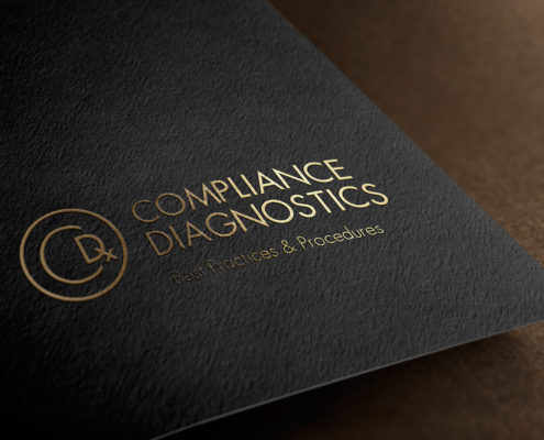 Compliance Diagnostics logo mockup