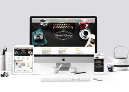 Hanks Design .net website mockup