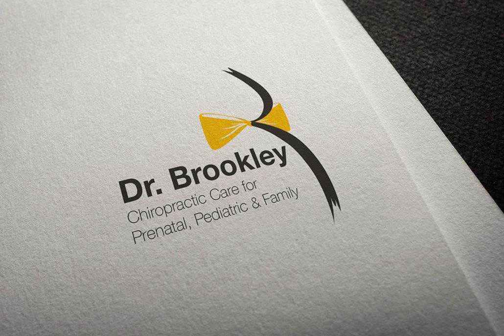 Logo mockup for Dr. Brookley Pavnica, Chiropractor