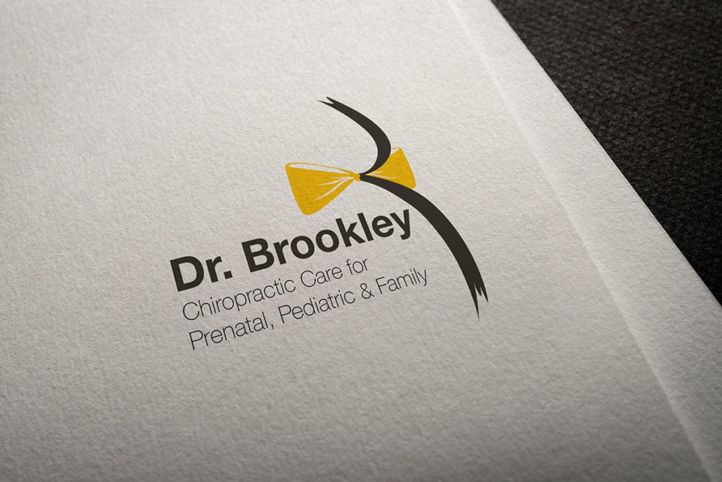 Logo mockup for Dr. Brookley Pavnica, Chiropractor