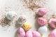 Easter eggs, pretty pastels for spring