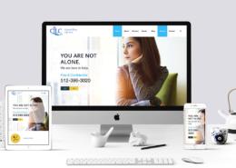 Central Texas Life Care website redesign