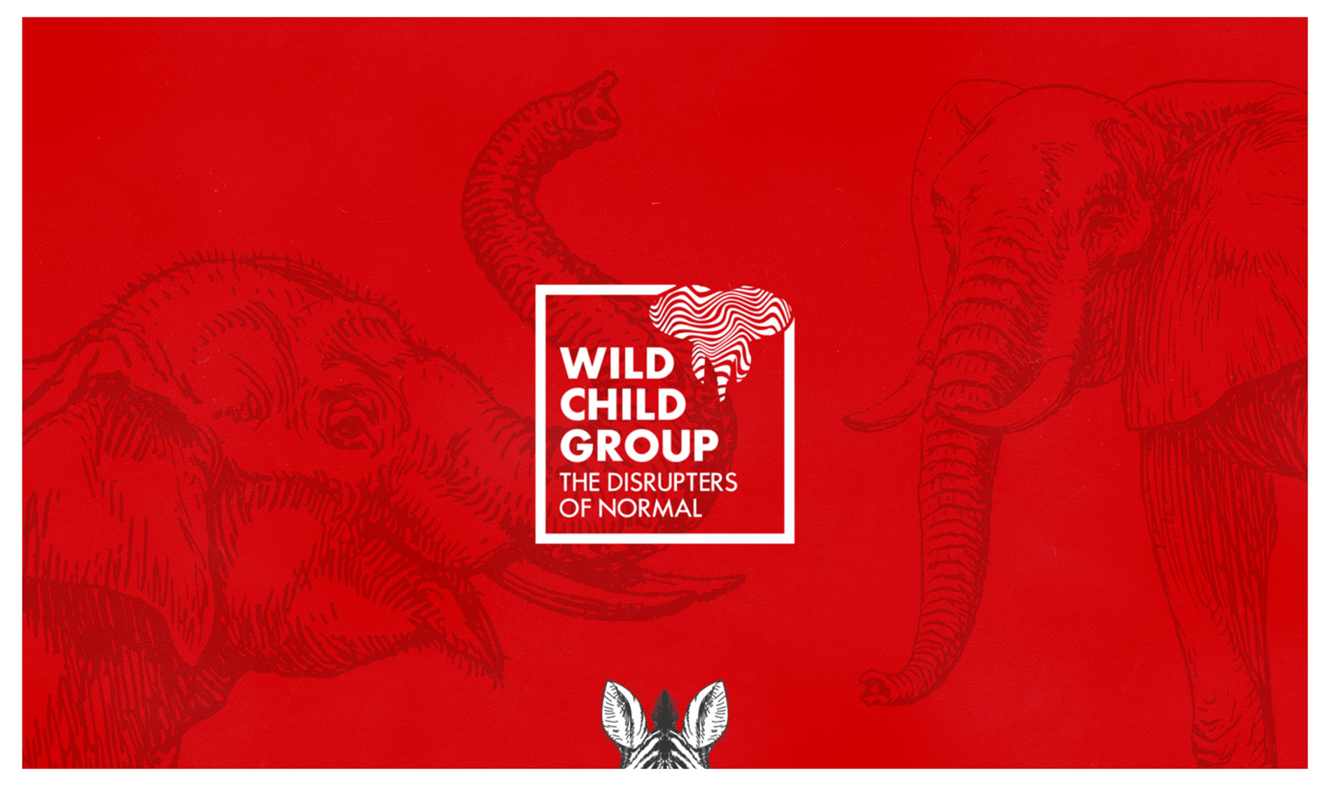 Wild Child Group website screenshot