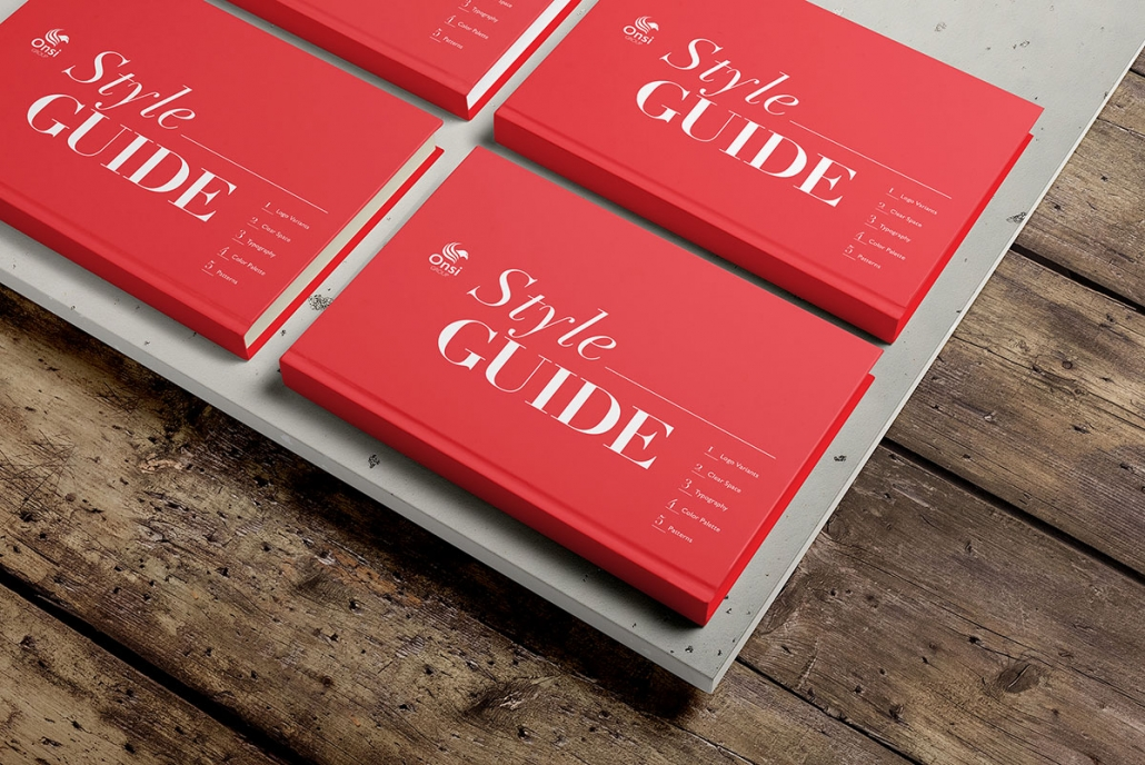 Onsi Group style guide