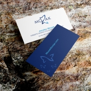 Mozak Design business cards