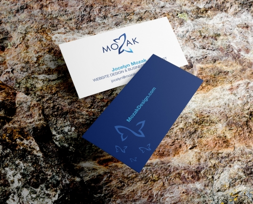 Mozak Design business cards