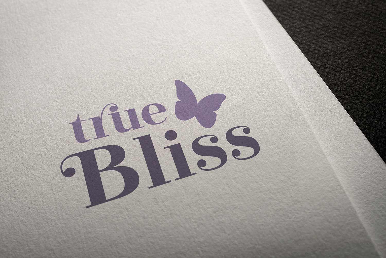 True Bliss logo design