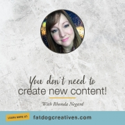 No need to create new content audiogram image