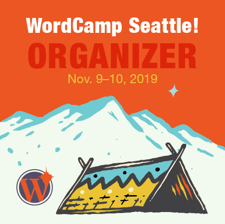 WordCamp Seattle Organizer Badge