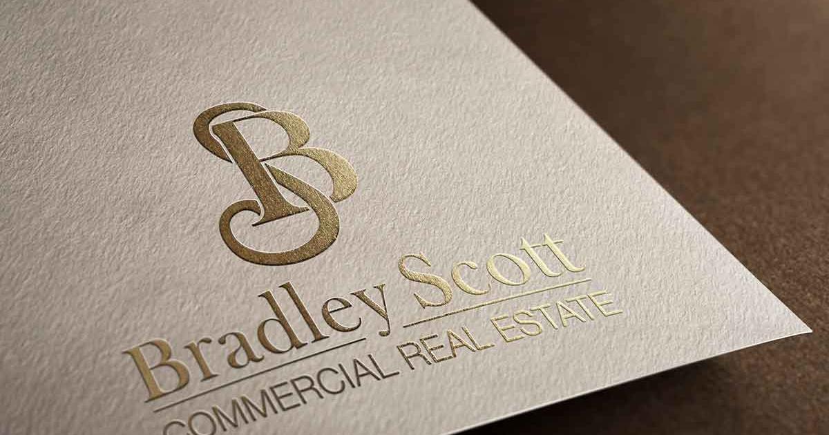 Bradley Scott Commercial Real Estate redesigned logo