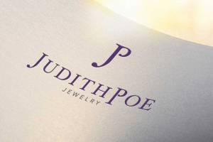 Judith Poe Jewelry logo design