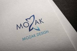 Mozak Design logo mockup