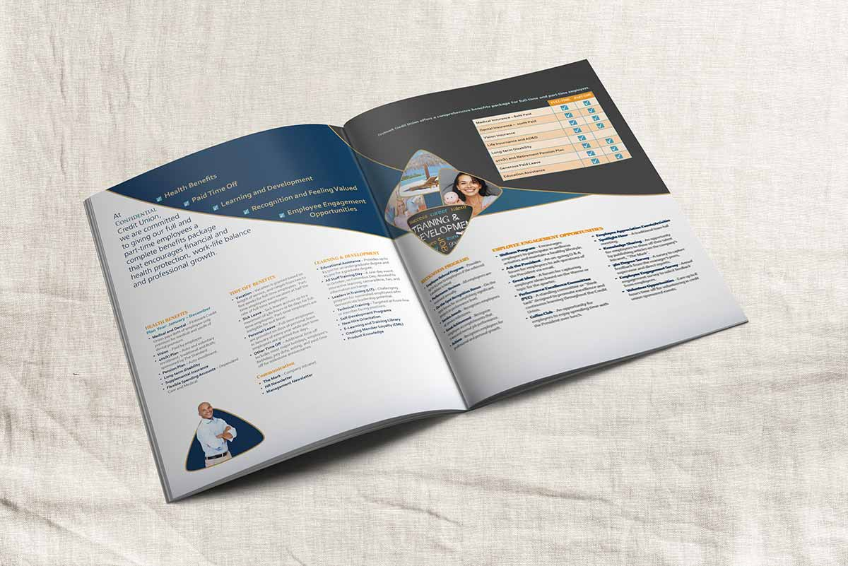 Brochure for Credit Union