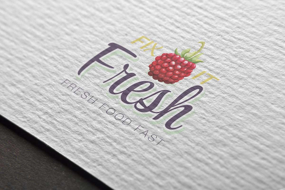 Fix It Fresh logo mockup