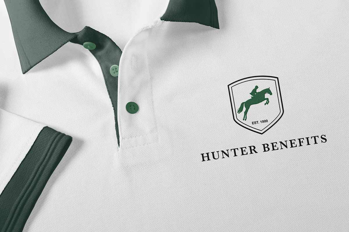 Hunter Benefits Consulting Group Polo shirt