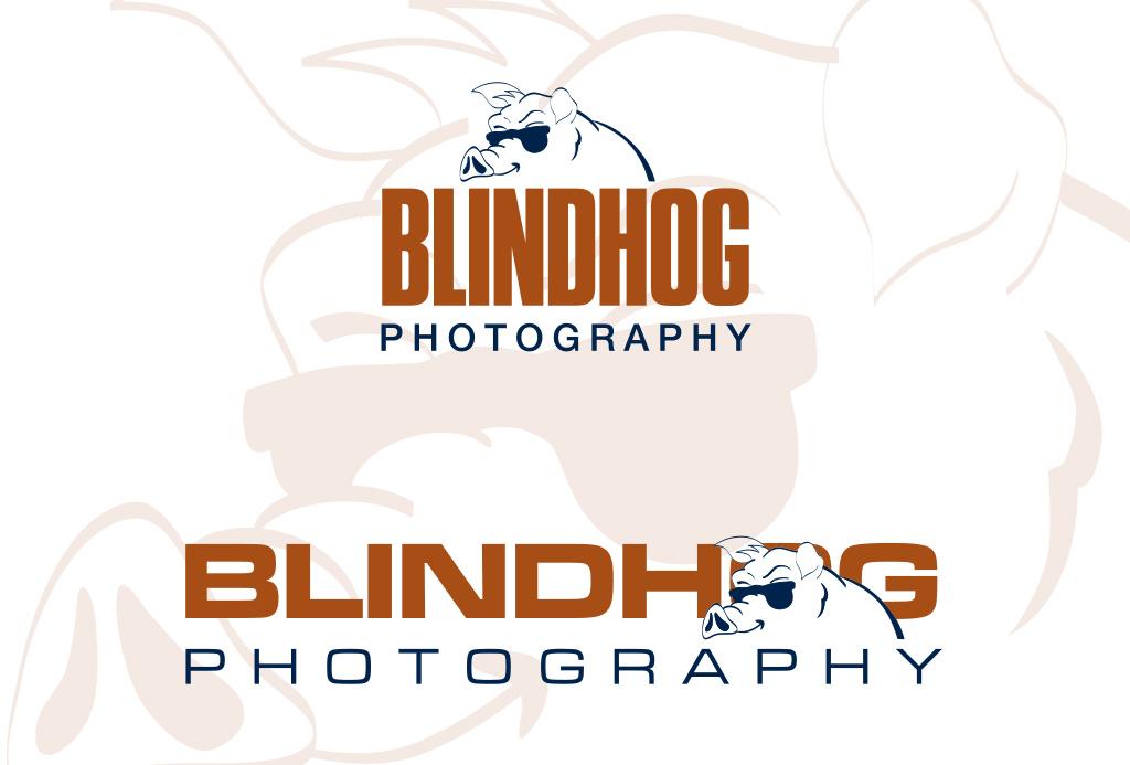 Blind Hog logos