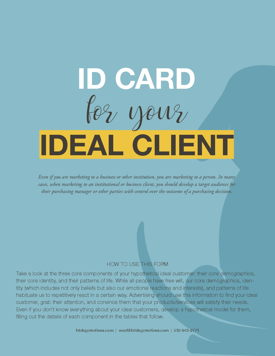 Ideal Client ID Card cover image