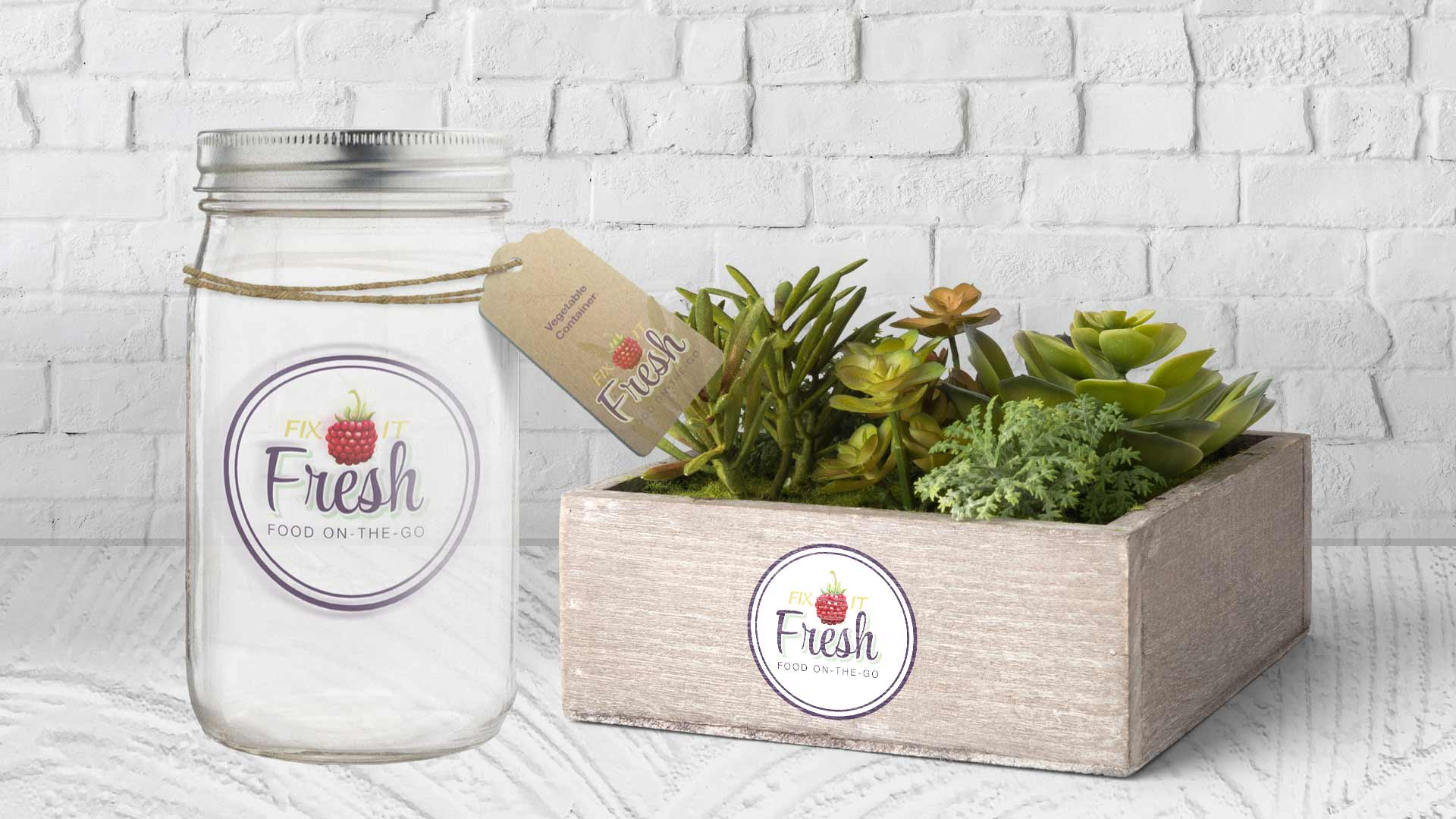 Fix It Fresh jar mockup