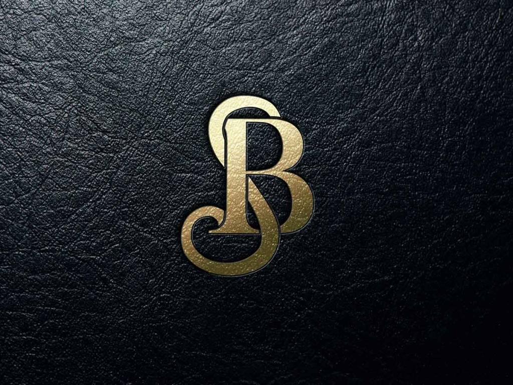 Bradley Scott Commercial Real Estate logo mark mockup