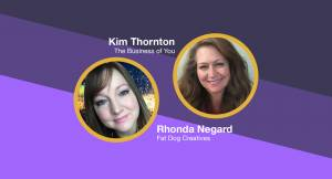 graphic of Rhonda Negard and Kim Thornton