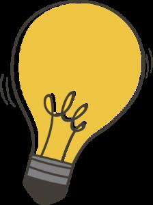 Illustration of a lightbulb