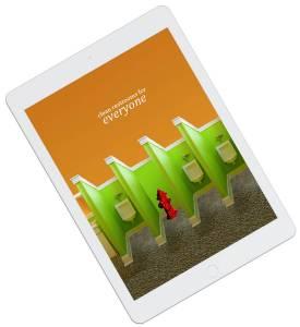 Ad design on iPad